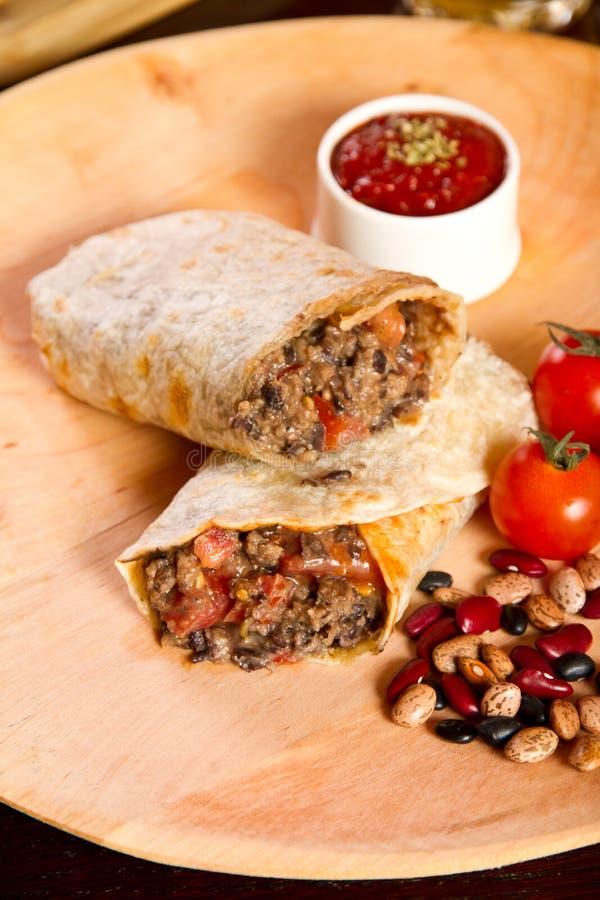 Burrito image stock