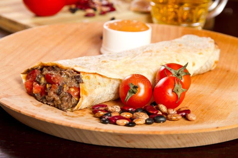 Burrito immagini stock