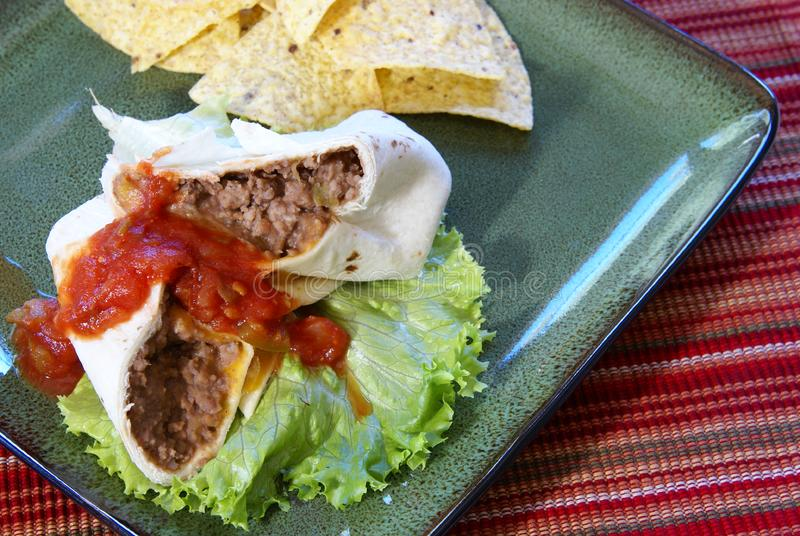 Burrito royalty free stock images