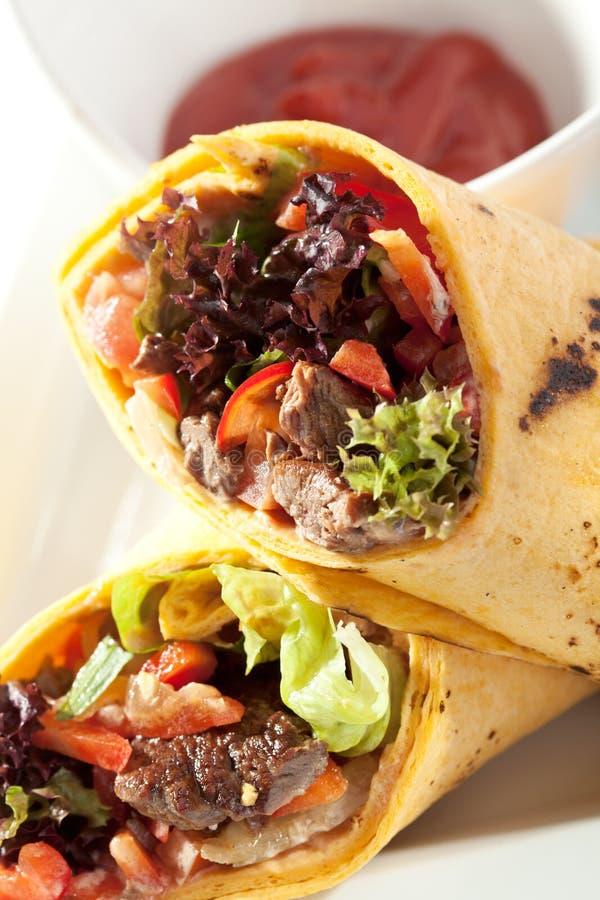 burrito fotografie stock libere da diritti