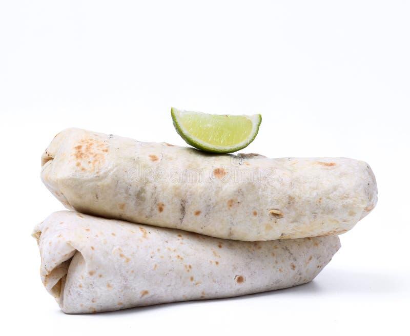 Burrito delicioso fotos de archivo