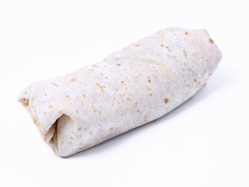 Burrito delicioso fotografía de archivo libre de regalías