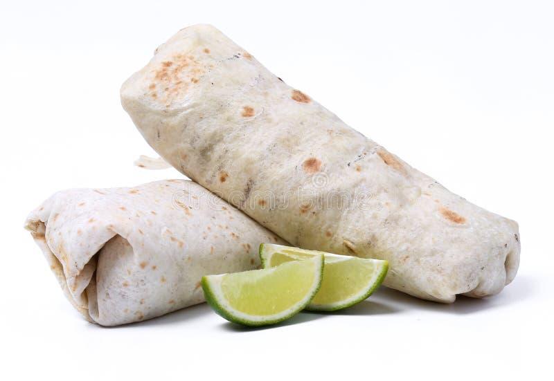 Burrito delicioso foto de archivo libre de regalías