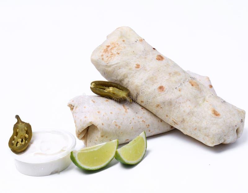 Burrito delicioso imagenes de archivo