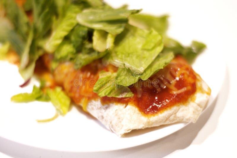 Burrito pour le déjeuner images libres de droits