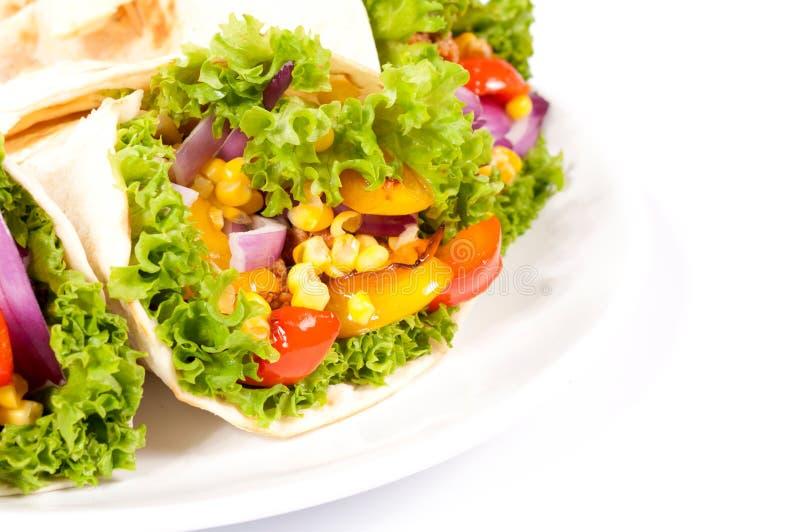Burrito Wrap Royalty Free Stock Photos