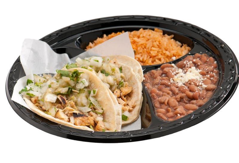 Burritos de los alimentos de preparación rápida imagenes de archivo