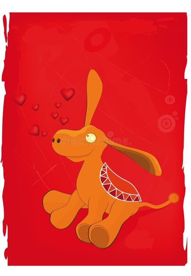 burro ilustracja wektor