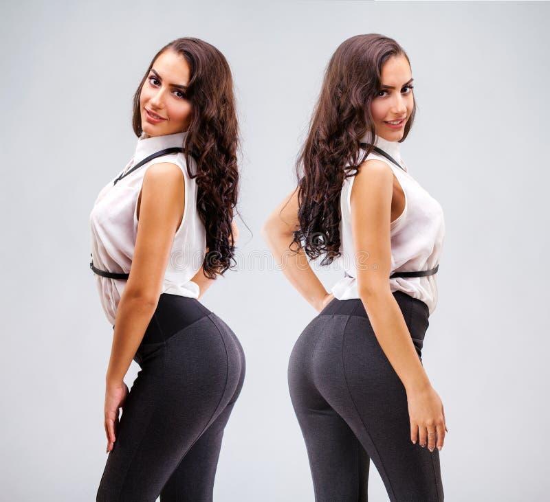 Burro 'sexy' grande imagens de stock royalty free