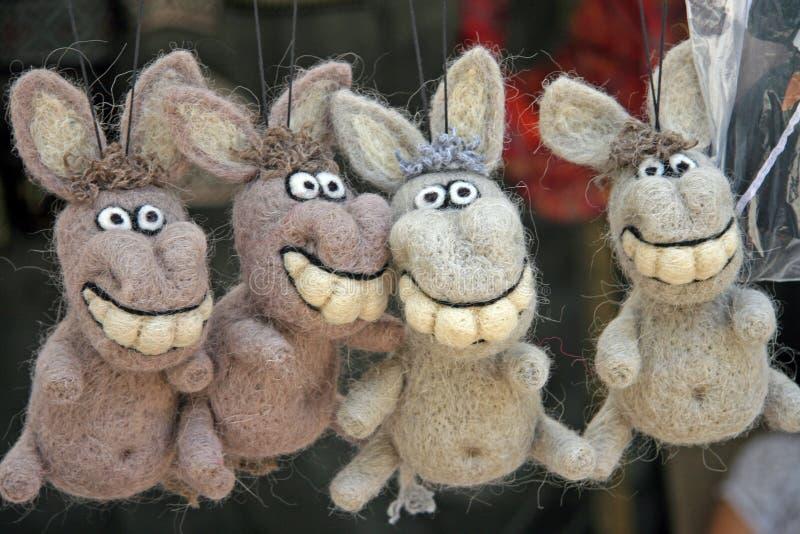 burros fotografia stock