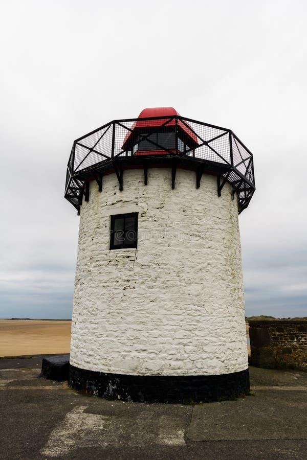 Burry Portowa latarnia morska fotografia stock