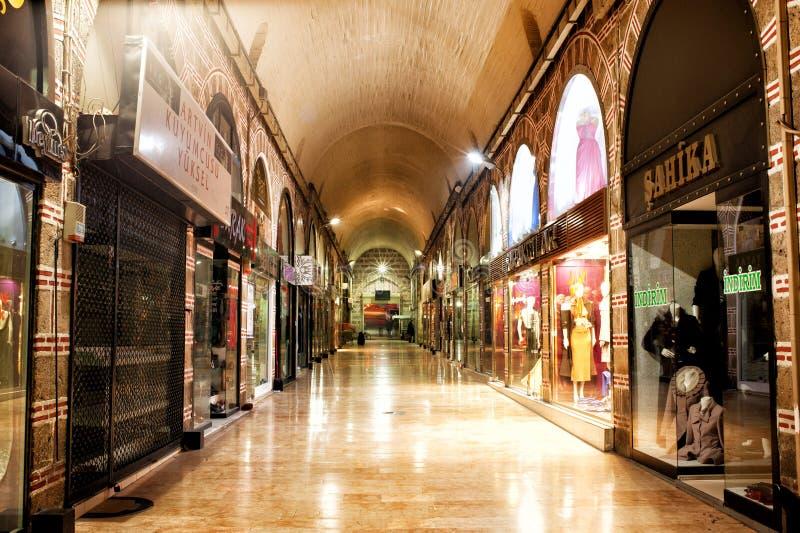 Bursa bazaar royalty free stock image