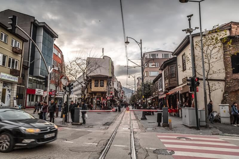 Bursa City, Turchia fotografia stock