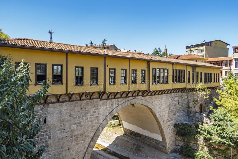 Bursa is the first capital of the Ottoman Empire. Turkey is the fourth largest and the historic city. royalty free stock photos