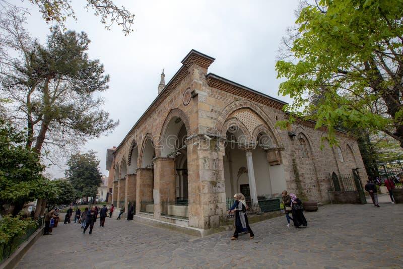 Bursa Gazi Orhan Bey Mosque fotografia stock libera da diritti
