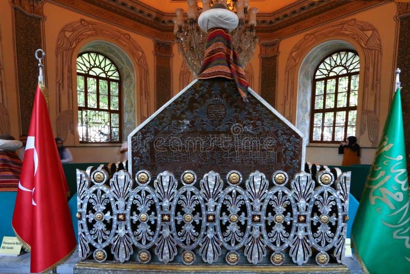 Bursa Orhan Gazi mausoleum royalty free stock photo