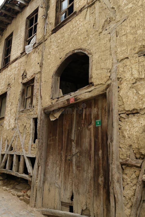 Bursa, Turchia - Umurbey un villaggio nella provincia di Bursa Viste del villaggio fotografie stock libere da diritti