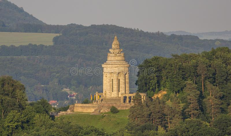 Burschenschaftsdenkmal, the Fraternity Memorial in Eisenach. Germany royalty free stock images