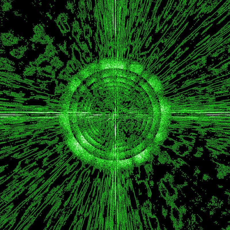 Burst del circuito illustrazione vettoriale