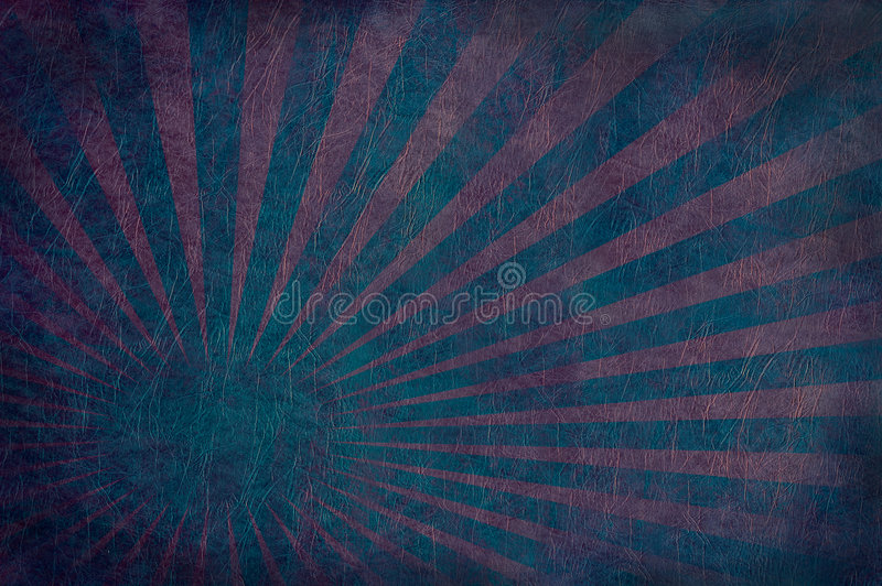 Burst del cuoio di colore rosso blu illustrazione vettoriale
