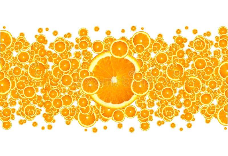 Burst dell'arancio immagini stock libere da diritti