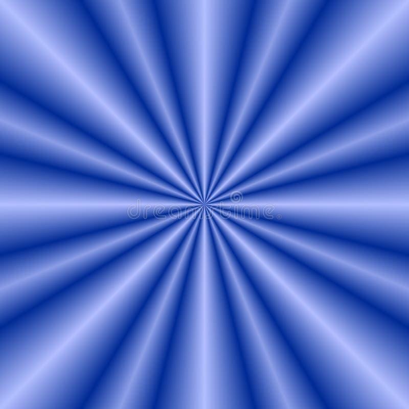 Burst dell'azzurro royalty illustrazione gratis