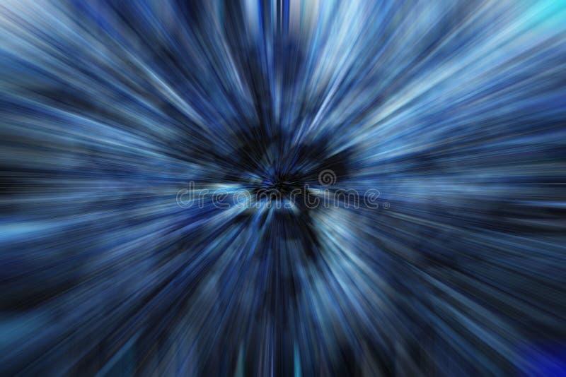 Burst dell'azzurro illustrazione vettoriale