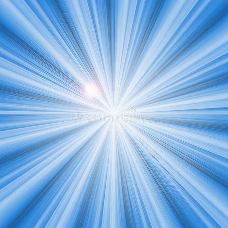 Burst dell'indicatore luminoso illustrazione vettoriale