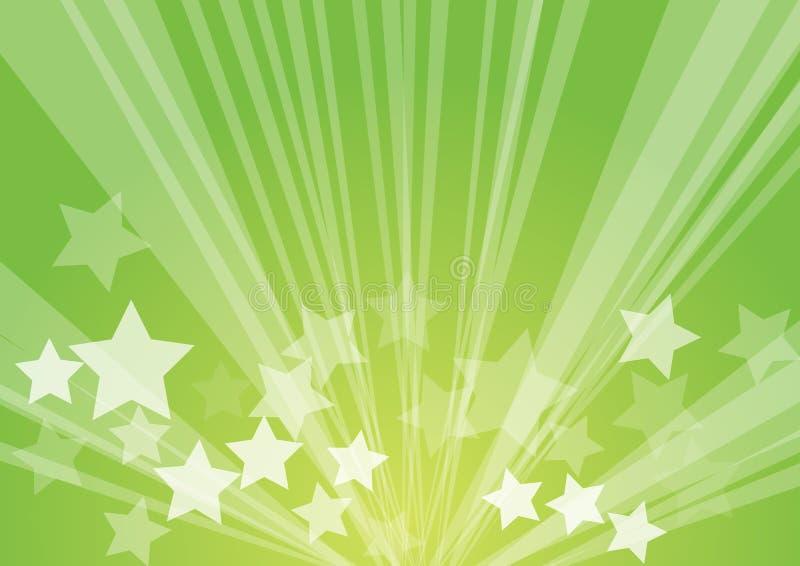 Burst della stella illustrazione di stock