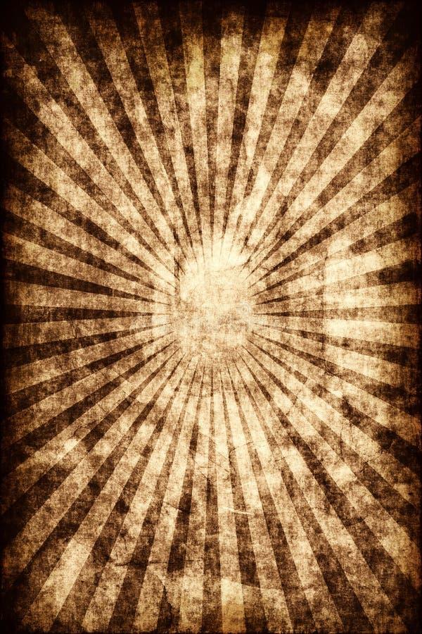 Burst di Grunge illustrazione vettoriale