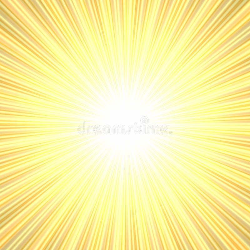 Burst luminoso royalty illustrazione gratis