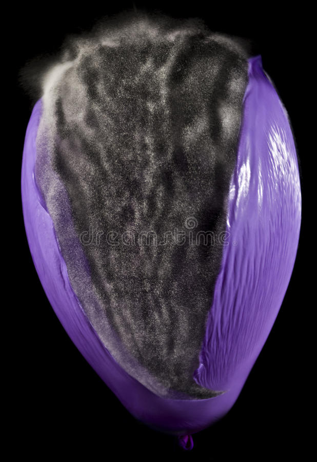 Download Bursting Balloon stock photo. Image of ball, highspeed - 12156640