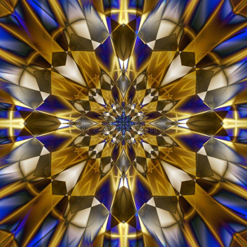 Bursting Kaleidoscope stock illustration