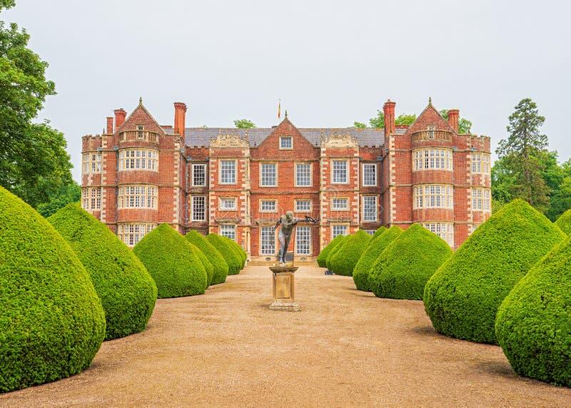Burton Agnes Hall, Yorkshire, Anglia zdjęcia royalty free
