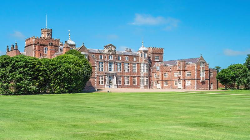 Burton konstabl Hall, Yorkshire, Anglia fotografia royalty free