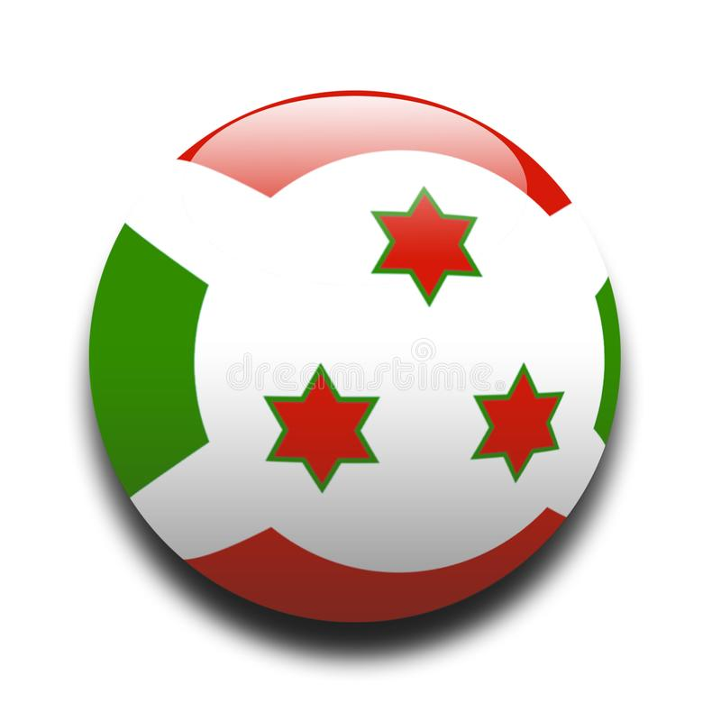 Burundi Flag Free Stock Photos