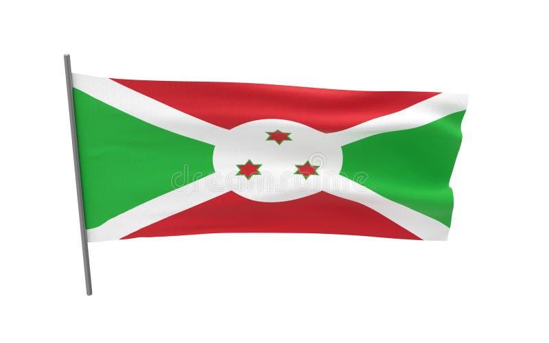 burundi flag? ilustracji