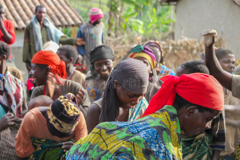 Burundi w Africa obrazy stock