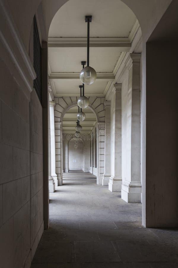 Bury House Courtyard. City of London, England, United Kingdom royalty free stock photography