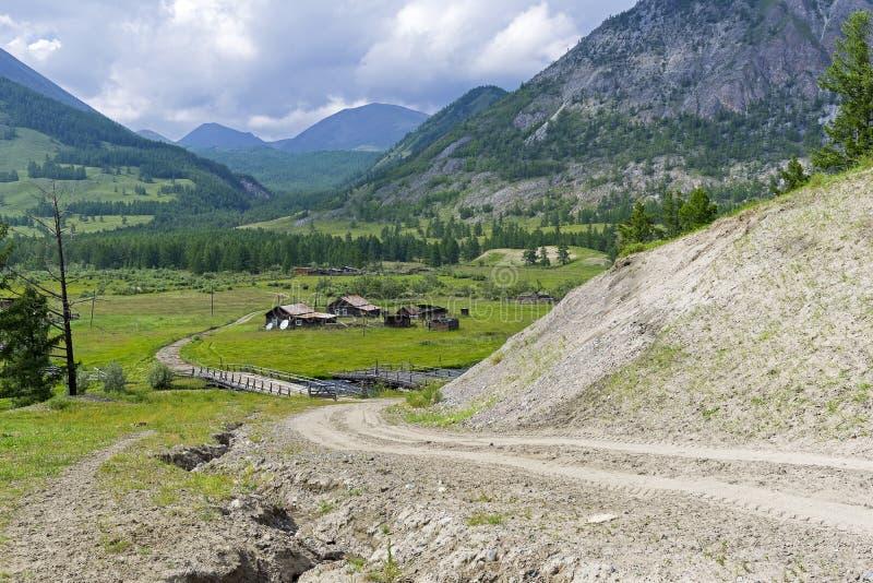 Buryat ulus στη Σιβηρία στοκ εικόνα με δικαίωμα ελεύθερης χρήσης