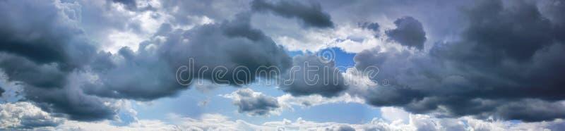 Burz chmury zdjęcia stock