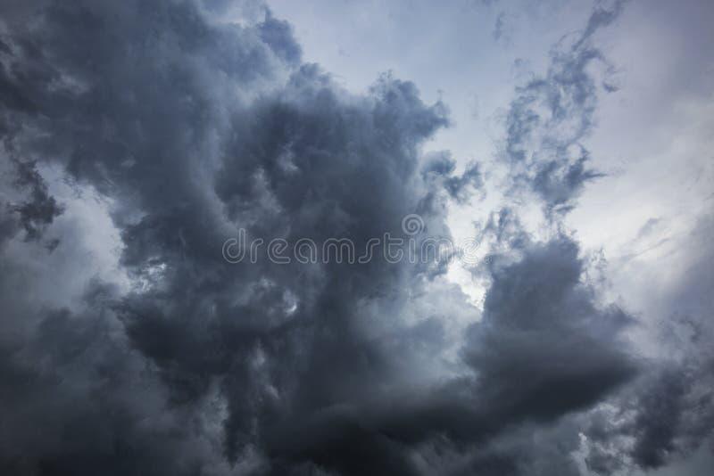 Burz chmury w środkowym Floryda obraz royalty free