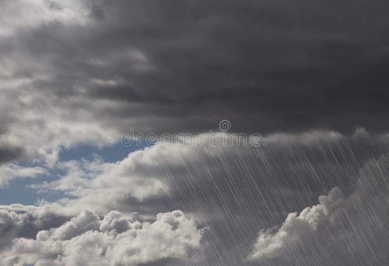 Burz podeszczowe Chmury zdjęcie royalty free