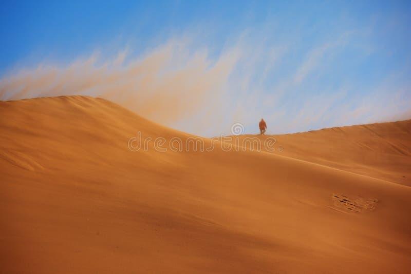 burza piaskowa zdjęcie royalty free