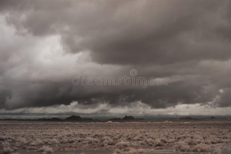 burza pustynny stary styl fotografia royalty free