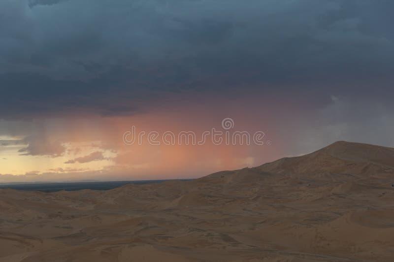 Burza w Pustyni zdjęcie stock