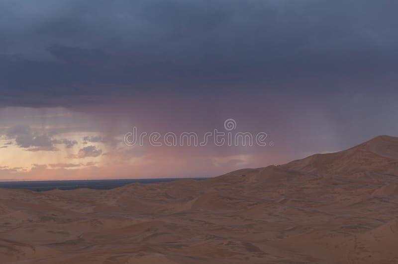 Burza w Pustyni zdjęcia stock