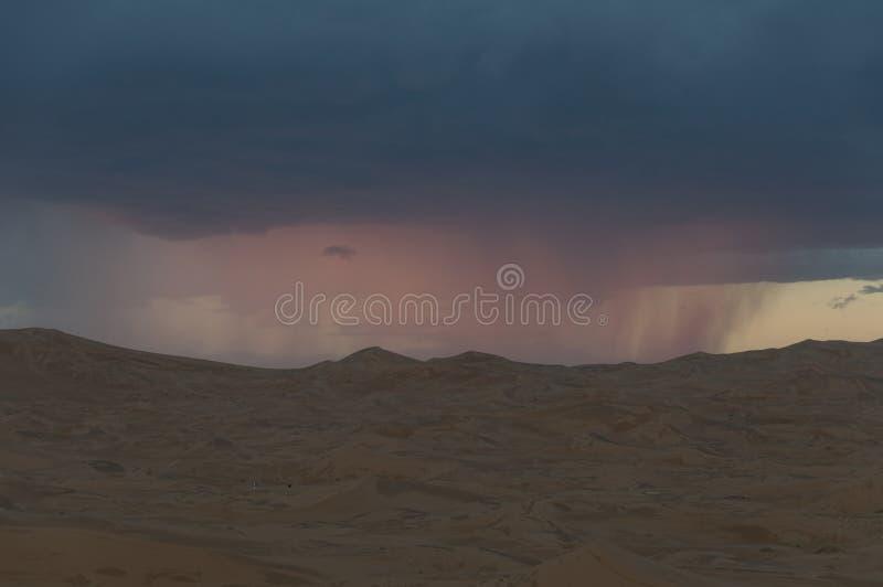Burza w Pustyni zdjęcie royalty free