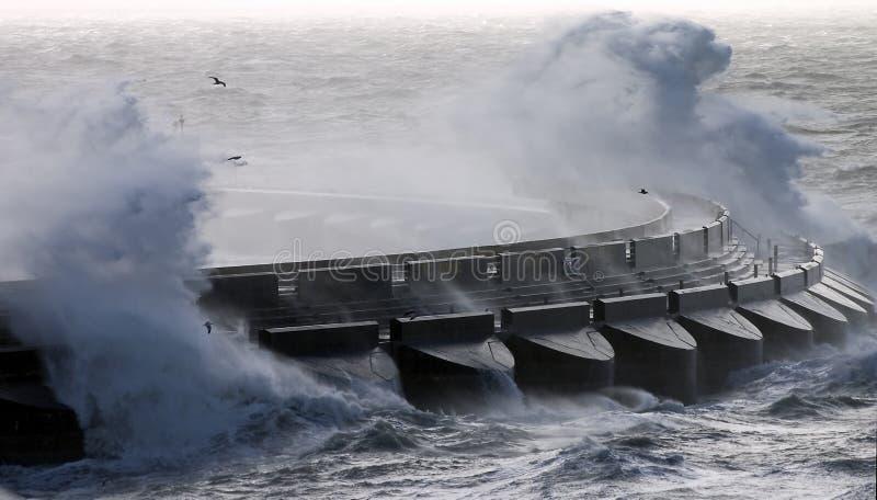 burzliwe morza zdjęcie royalty free
