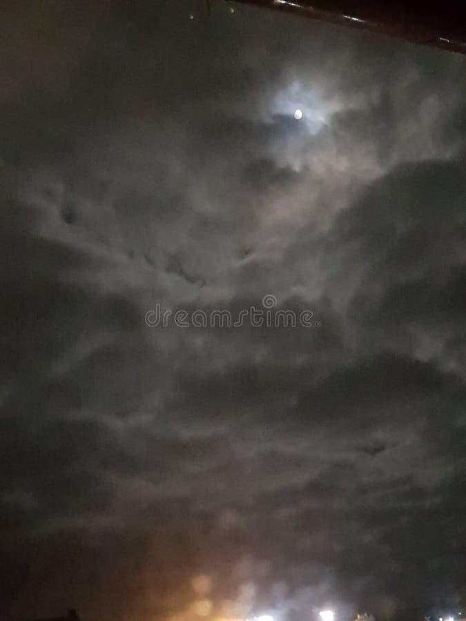 burzliwe niebo fotografia royalty free